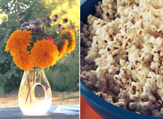 Flowers & Popcorn