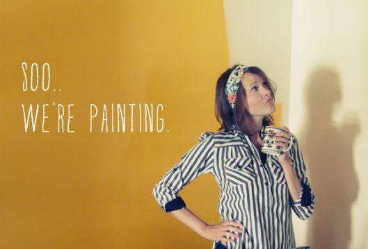 We're Painting