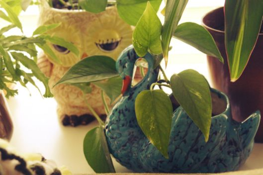 Vintage Animal Planter Collection
