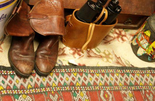 Cowboy Boots & Binocs