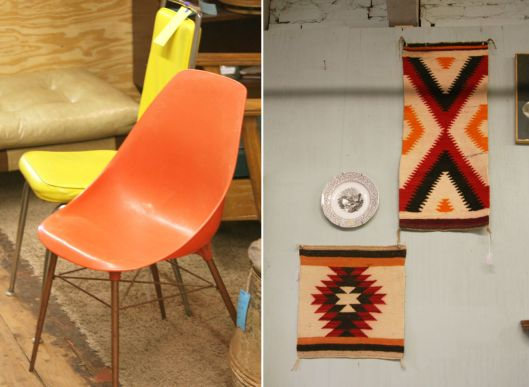 Shell Chairs & Wall Hangings