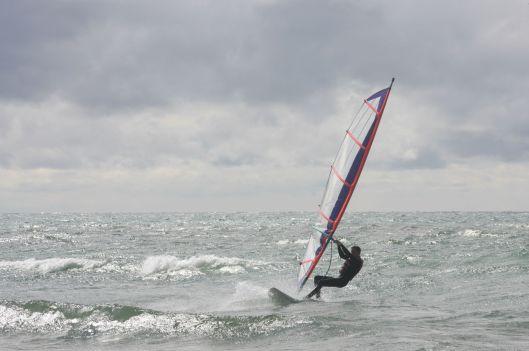 Windsurfing Nate