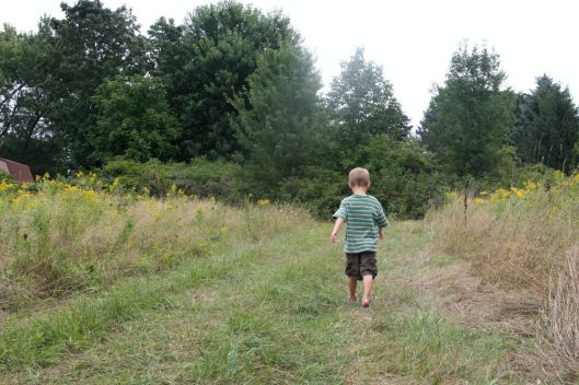 Thomas on a Hike
