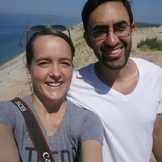 Sleeping Bear Dunes Selfie